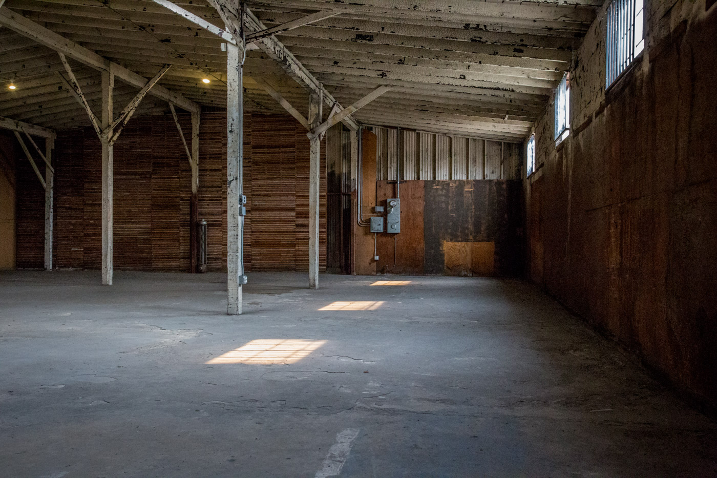 warehouse film and photo location